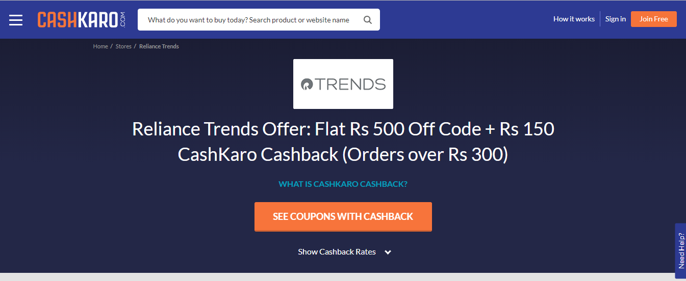 Reliance_Trends_Store_Page