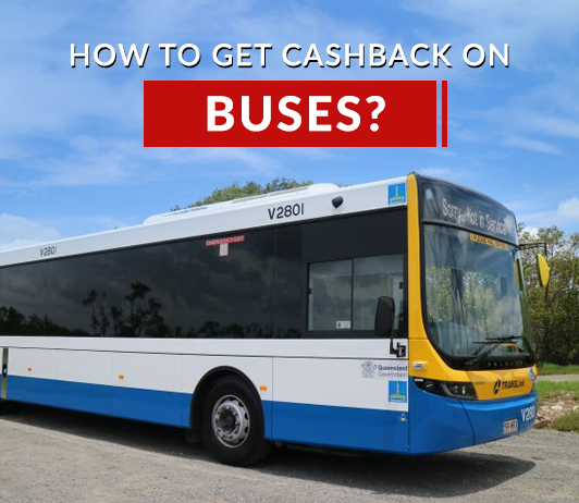 How to get cashback on bus