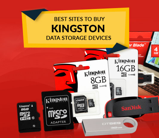 Best Sites to Buy Kingston Data Storage Devices