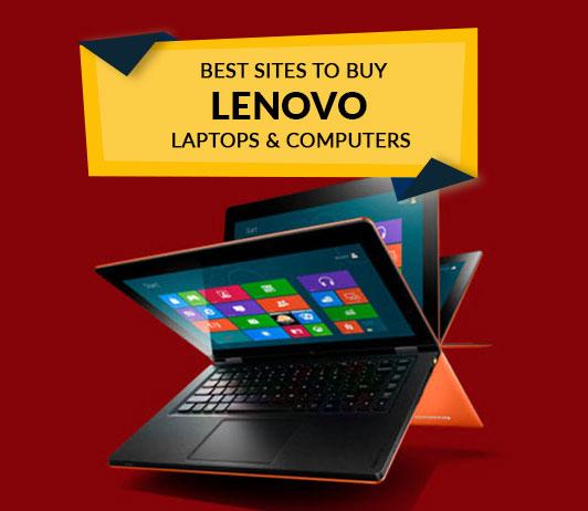 Best Sites to Buy Lenovo Laptops & Computers