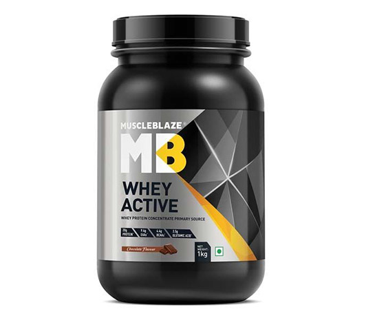 MuscleBlaze Whey Active