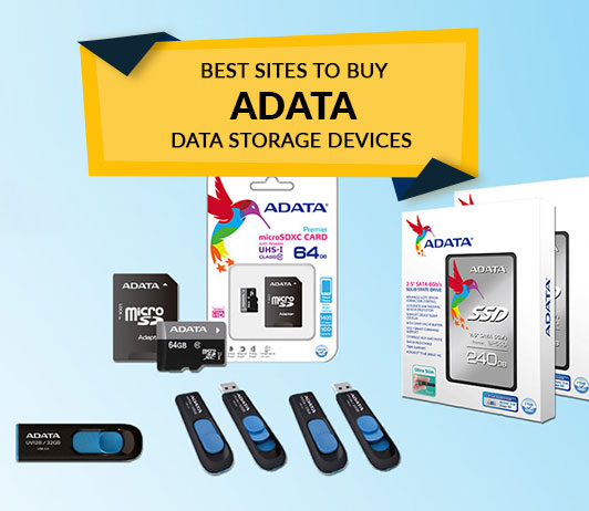 Best Sites to Buy Adata Data Storage Devices