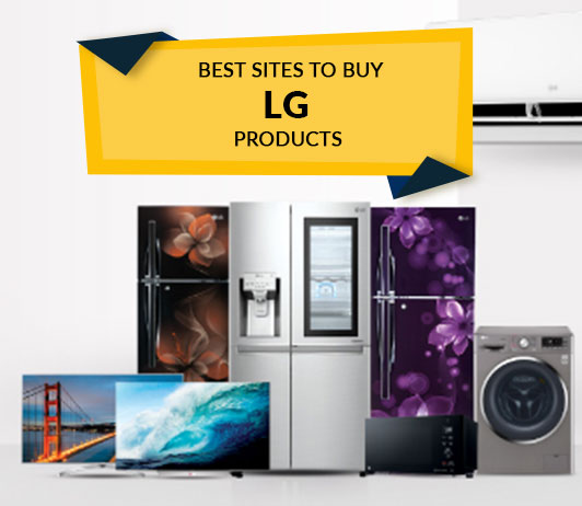 Best Sites to Buy LG Products