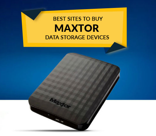 Best Sites to Buy Maxtor Data Storage Devices