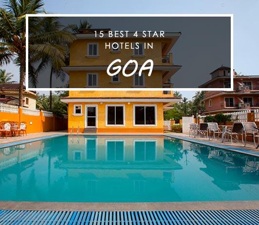 Best 4 Star Hotels In goa