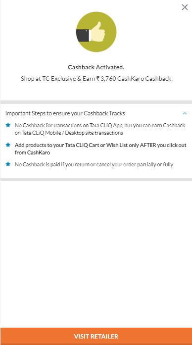 Apple iPhone 7 Cashback