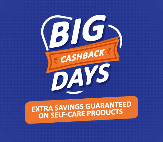Big Cashback Days: Guaranteed Savings on Self-care Products