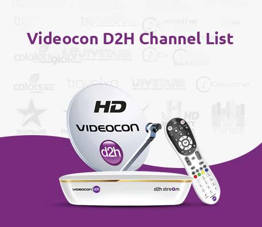 Videocon D2H Channel List 2019