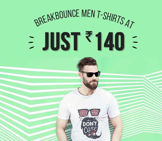 Breakbounce Men T-Shirts Offers