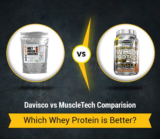 Davisco vs MuscleTech: Which Whey Protein Brand is Better?
