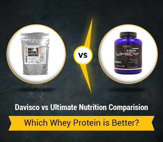 Davisco vs Ultimate Nutrition: Which Whey Protein Brand is Better?