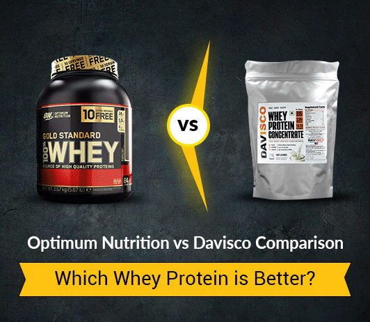 Optimum Nutrition Whey Gold Standard Protein vs Davisco Whey Protein Concentrate 80% – 5 Differences You Must Know