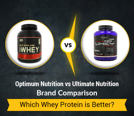 Optimum Nutrition Whey Gold Standard Protein vs Ultimate Nutrition Prostar 100% Whey Protein - 5 Differences You Must Know