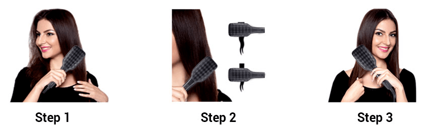 How Should You Straighten your Hair with A Brush