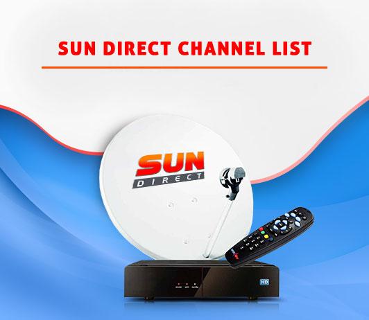 Sun Direct Channel List