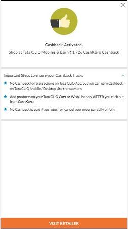 Nokia 6 32GB CashKaro Cashback