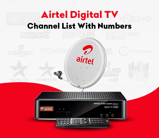 Airtel Digital TV Channel List With Numbers