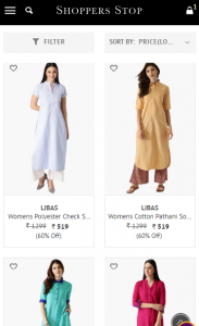 shoppers stop - product