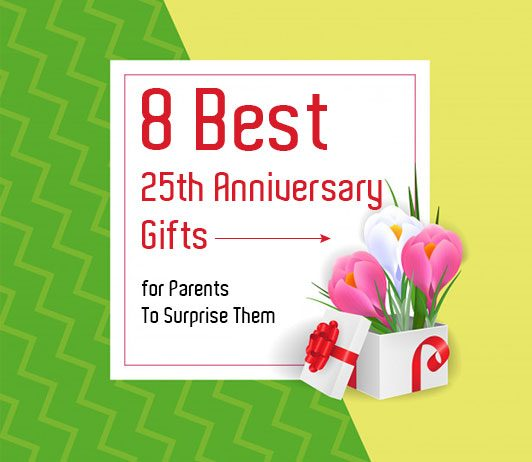 Best 25th anniversary gifts for parents