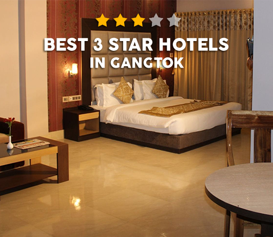 Best 3 Star Hotels In Gangtok