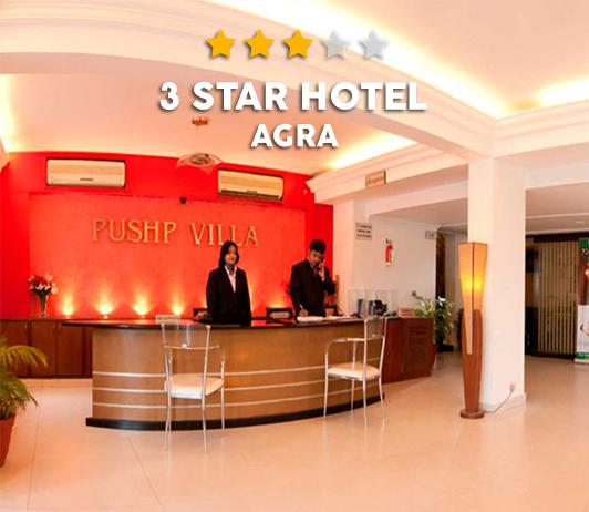 Best3 Star Hotels In Agra