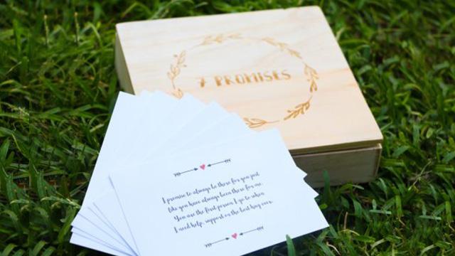 '7 Promises to Renew': A Reinterpretation of your Wedding Vows