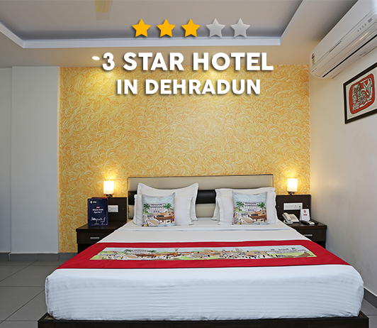 Best 3 Star Hotels In Dehradun