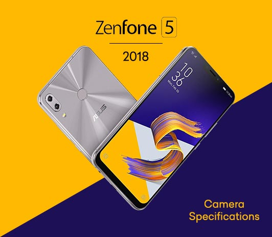 Asus Zenfone 5 2018 Camera Specifications