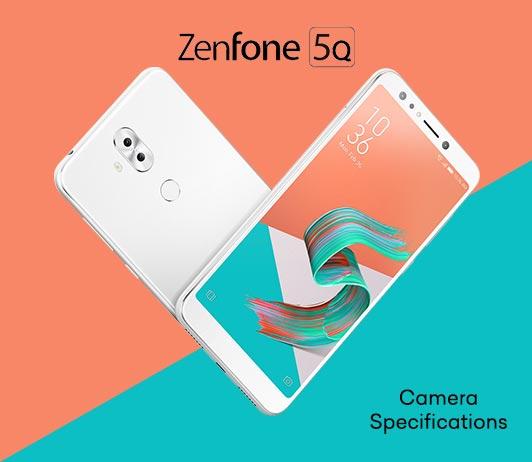 Asus Zenfone 5Q Camera Specifications