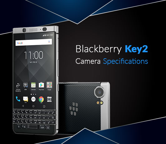 Blackberry Key2 Camera Specifications