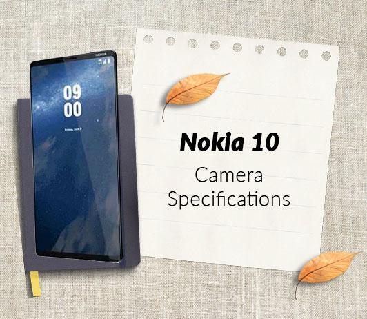 Nokia 10 Camera-Specifications