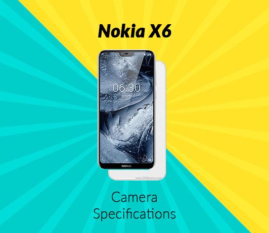 Nokia X6 Camera Specifications