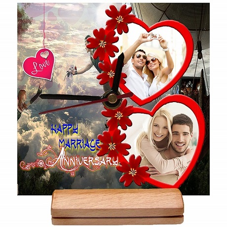 Personalized Wedding Clock