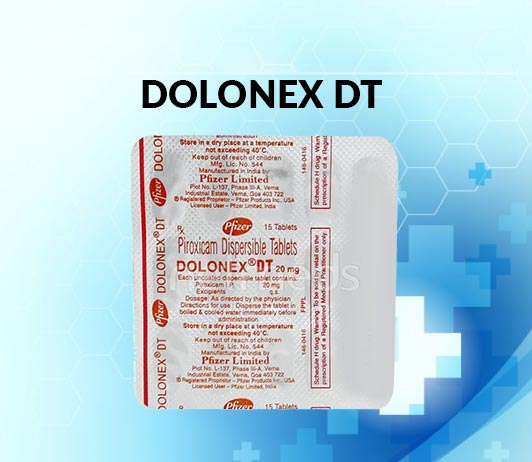 Dolonex DT 20 MG Tablet: Uses, Dosage, Side Effects, Price, Composition & 20 FAQs