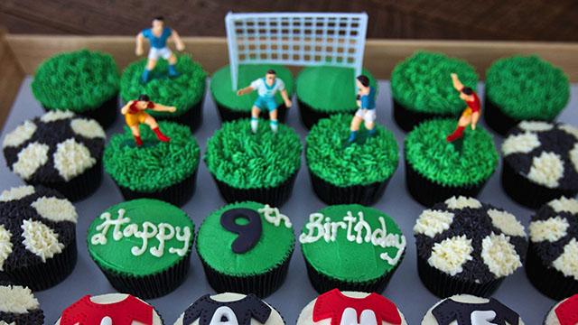 Football Themed Chocolate
