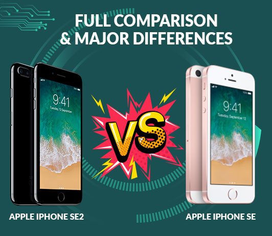 Apple iPhone SE2 vs Apple iPhone SE: Full Comparison & Major Differences