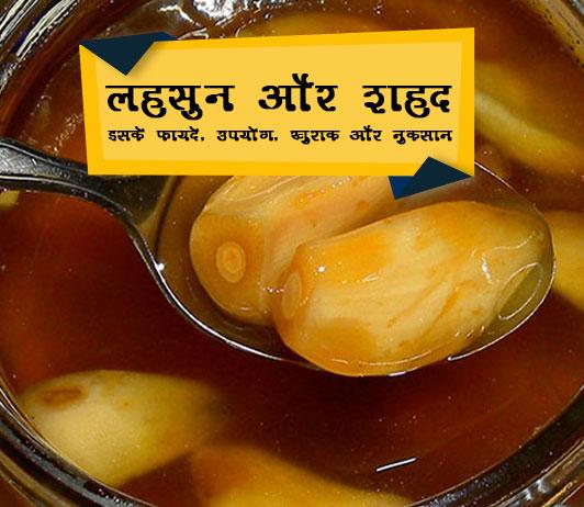 lahsun aur shahad ke fayde aur nuksan in Hindi लहसुन शहद के फायदे और नुकसान