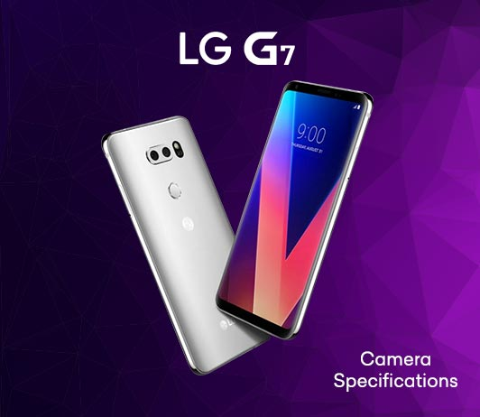 LG G7 2018 Camera Specifications
