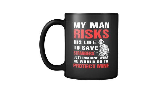 My Man My Life Mugs