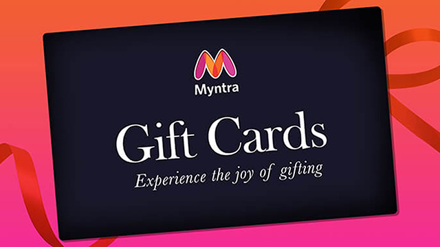 Myntra Gift Card for a Great Anniversary Shopping Experience