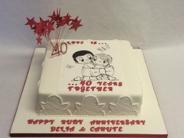 Novelty Cake For BoyFriend