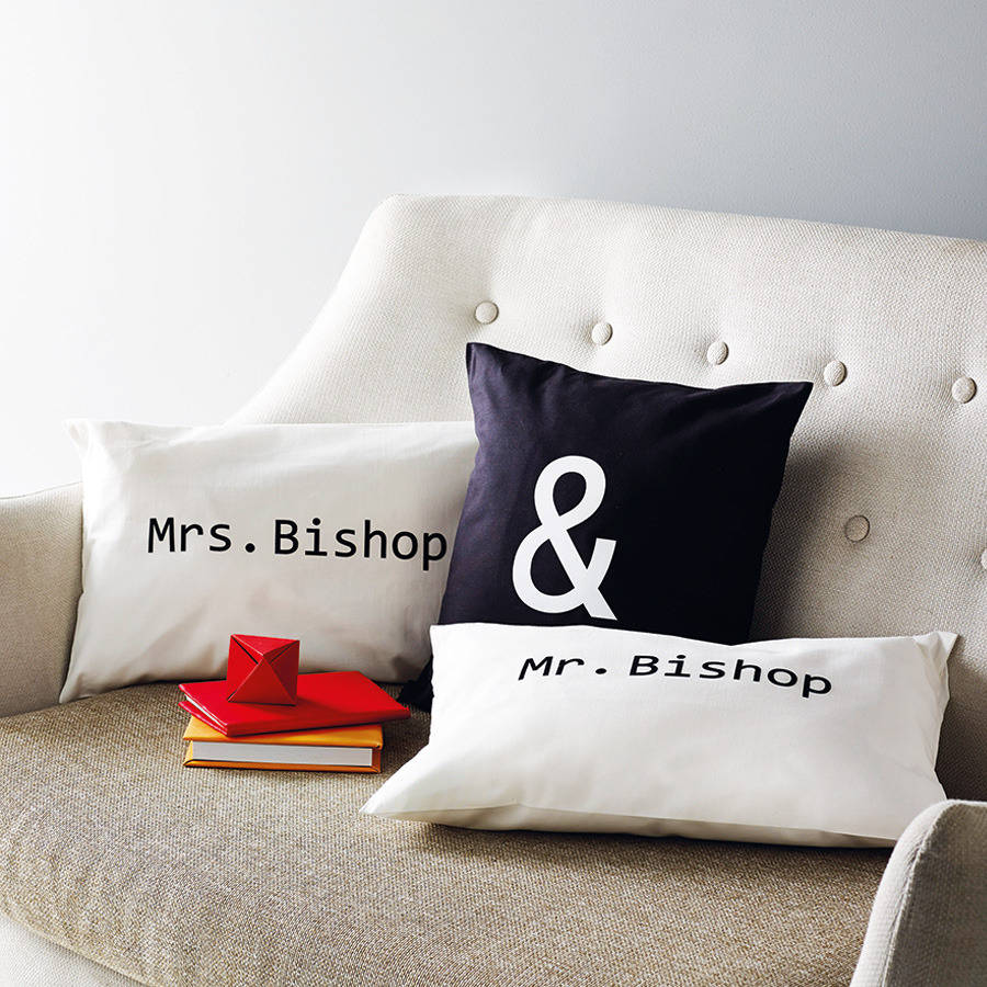 Customized Couple Cushions