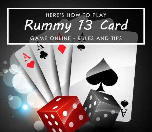 13 card Rummy game online