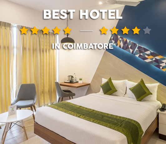 9 Best Hotels In Coimbatore