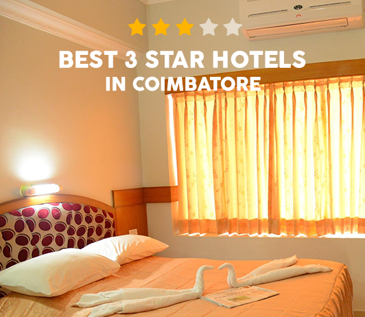 Best 3 Star Hotels In Coimbatore