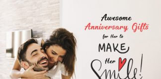 12 Awesome Anniversary Gifts for Her to Make Her Smile
