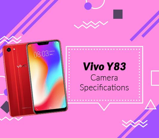 Vivo Y83 Camera Specifications
