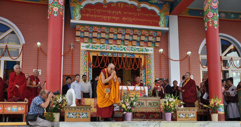 दलाई लामा मंदिर (त्सुगलगखांग) कॉम्प्लेक्स एंड तिब्बत संग्रहालय, Dalai Lama Temple Complex