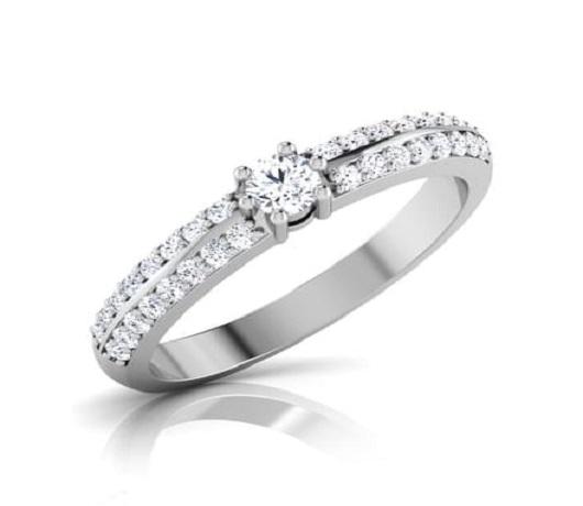 A Diamond Ring for A Precious Bond