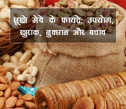 Dry Fruits Benefits Side Effects in Hindi सूखे मेवे के फायदे: उपयोग, खुराक, नुक्सान और बचाव
